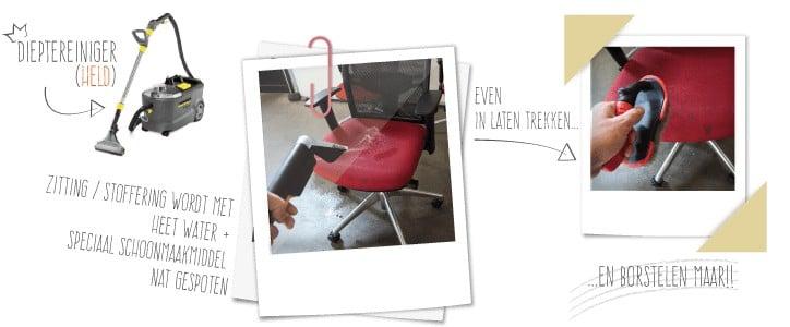 hoe stoelen schoonmaken